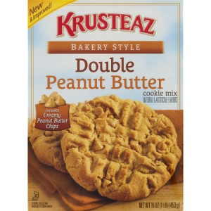 krusteaz double peanut butter cookie mix 453g krusteaz double peanut ...