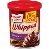 Duncan Hines® Chocolate Whipped Frosting 397g Canister