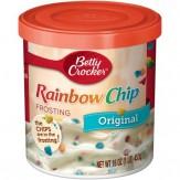 Betty Crocker Gluten Free Original Rainbow Chip Frosting 453g Canister