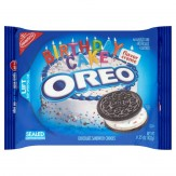 Oreo Birthday Cake Chocolate Creme Cookies 432g