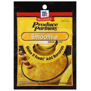 Produce Partners Banana Smoothie Drink Mix 56g |