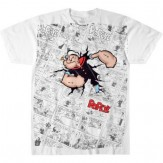 Popeye on Newspaper Men's Graphic Tee XL