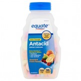 Equate Extra Strength Assorted Fruit Flavors Antacid Tablets 96ct