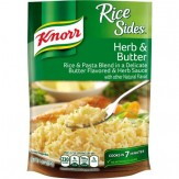 Knorr Rice Sides Rice Side Dish Herb & Butter 153g