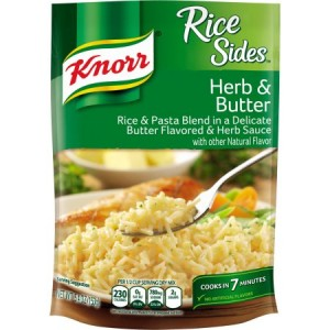 Knorr Rice Sides Rice Side Dish Herb & Butter 153g |