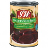 S&W Sliced Pickled Beets 425g Can