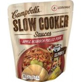 Campbell's Slow Cooker Sauce- Apple Bourbon Pulled Pork 369g