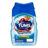 Tums Smoothies Chewable Tablet Berry Fusion 12 Ct