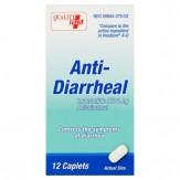 Quality Plus Anti-Diarrheal Caplets 12 count