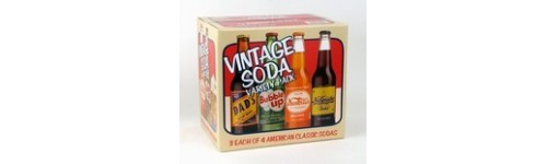 Retro Glass Bottle Sodas