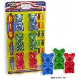 BIG GUMMY BEAR 6 PACK ASSORTED