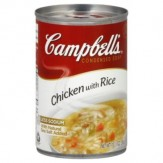Campbells Chicken with Rice Condensed Soup  298g