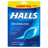 Halls Mentho-Lyptus Cough Drops 80 ct