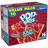 Kellogg's Pop Tarts Jolly Rancher Frosted Cherry Toaster Pastries 16 ct