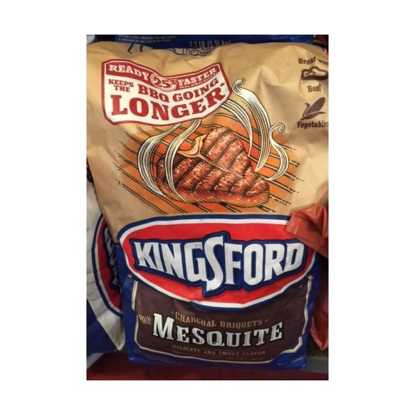 Kingsford Charcoal Briquets Mesquite 3 31kg Bag Usa Foods