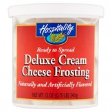 Hospitality Deluxe Cream Cheese Frosting 340g