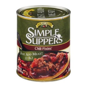 Margaret Holmes Simple Suppers Chili Fixins' 765g |