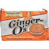 Newman's Own Organics Newman-O's Creme Filled Cookies Ginger n Creme 226g