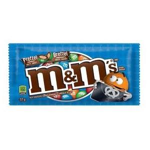 M&M's Pretzel 32.3g DATED  