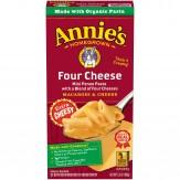 Annie's Natural Macaroni & Cheese Four Cheese 170g