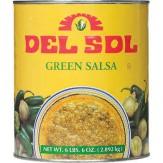 Del Sol Green Mexican Salsa  A10 can 2.83kg