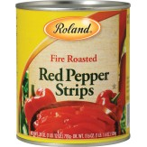 Roland Fire Roasted Red Pepper Strips 794g