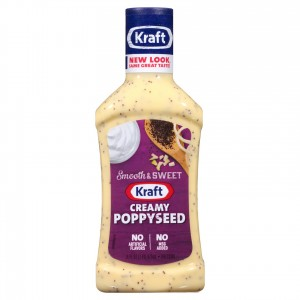Kraft Creamy Poppyseed Salad Dressing 473ml |
