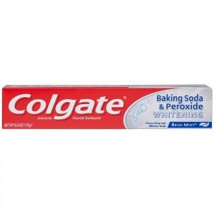 Colgate & Baking Soda & Peroxide Whitening Brisk Mint 226g  