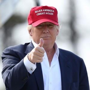 MAKE AMERICA GREAT AGAIN - TRUMP CAP- RED |
