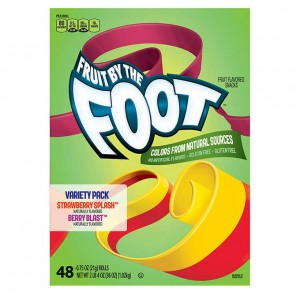 General Mills Fruit By The Foot Variety Pack 21g 48-count |