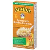 Annie's Spirals with Butter & Parmesan  Organic Pasta 149g
