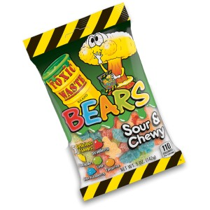 Toxic Waste Sour & Chewy Bears 142g |