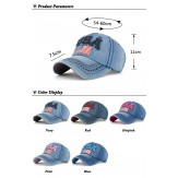 Baseball cap USA flag unisex cap Denim