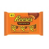 Reese's Milk Choc Peanut Butter Cups 42g 6 Pack
