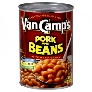 Van Camp S Pork And Beans 425g Dented Can Usa Foods