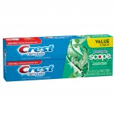 Crest Complete Whitening+ Scope Minty Fresh Striped Toothpaste x 2 175g Tubes