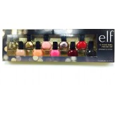 e.l.f 10 Piece Nail Polish Set Shimmer & Shine 5 mL ea elf No Animal Testing