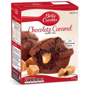 Betty Crocker Chocolate Caramel Muffin Mix 500g |
