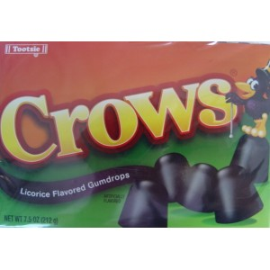 Crows Licorice Gumdrops 212g  |