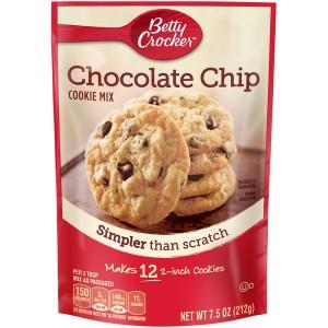 Betty Crocker Chocolate Chip Cookie Mix 212g |