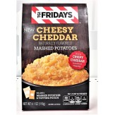 TGI Fridays Cheesy Cheddar Naturally Flavored Mashed Potatoes 116g
