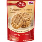 Betty Crocker Snack Size Peanut Butter Cookie 204g