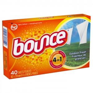 Bounce Dryer Sheets, Fresh Linen 40 Sheets |