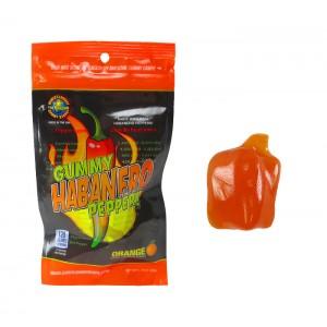 GUMMY HABANERO PEPPER - INSANE HEAT PEG BAG |