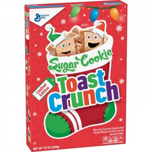 Sugar Cookie Toast Crunch Breakfast Cereal  340g |