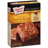 Duncan Hines Decadent Chocolate Peanut Butter Brownie Mix 475g Box