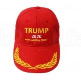 TRUMP 2020 CAP - RED - NEW