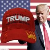 TRUMP MAKE AMERICA GREAT AGAIN  CAP - RED - NEW