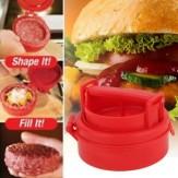 Manual Hamburger Press Stuffed Pattie Maker