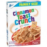 Cinnamon Toast Crunch Cereal Family size 476g